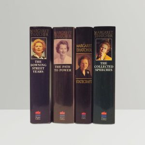 margaret thatcher the downing street yearsthe path to powerstatecraft strategies for a changing worldthe collected speeches all signed without dedication