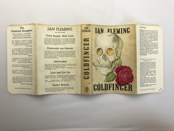 ian fleming goldfinger signed by the golden girls5