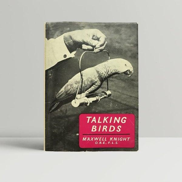 Maxwell Knight Talking Birds First Edition
