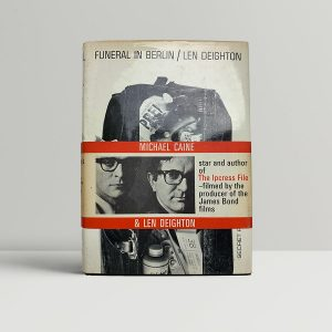 len deighton funeral in berlin first uk edition 1964