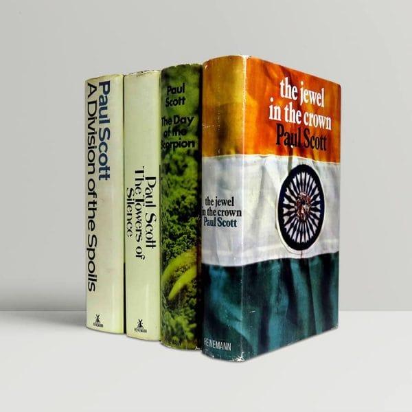 paul scott the raj quartet first uk editions 1966 1975 rare