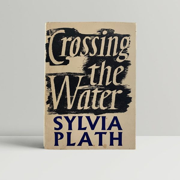 sylvia plath crossing the water first uk edition 1971 img 1948