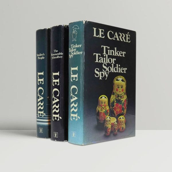 john le carre the karla trilogy first uk editions rare smiley