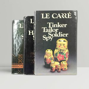 john le carre the karla trilogy first edition set1