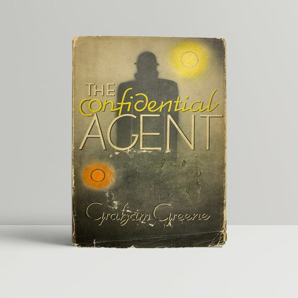 graham greene the confidential agent first us edition 1939