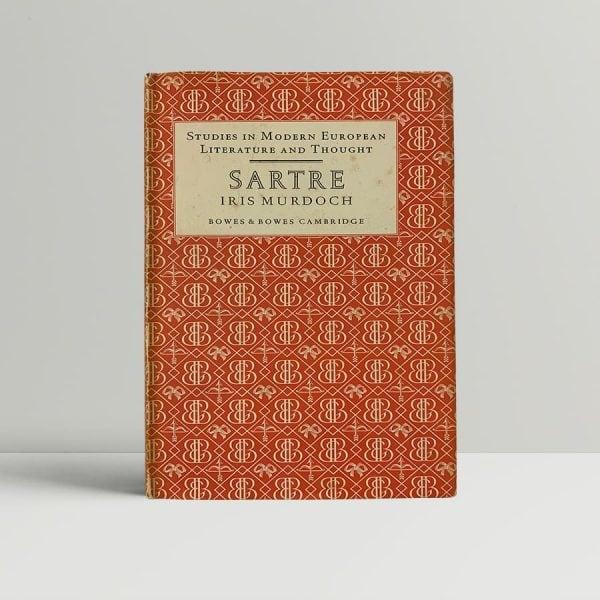 iris murdoch sartre first edition1