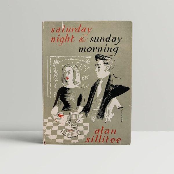 Alan Sillitoe Saturday Night FIrst Edition
