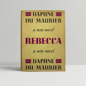 daphne du maurier rebecca first uk edition 1938 rare