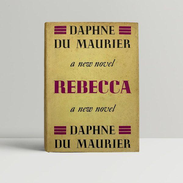 daphne du maurier rebecca first uk edition 1938 rare