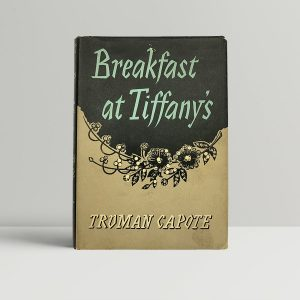 truman capote breakfast at tiffanys first uk edition 1958