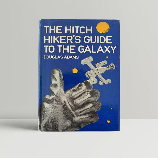 Douglas Adams Hitch Hikers Guide First Edition