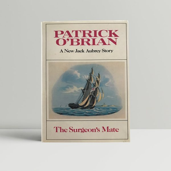patrick obrian the surgeons mate first uk edition 1980