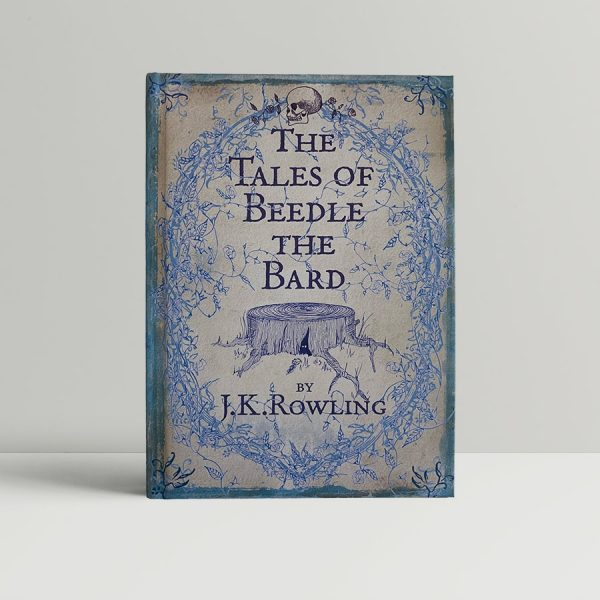 j k rowling the tales of beedle the bard first uk edition 2008