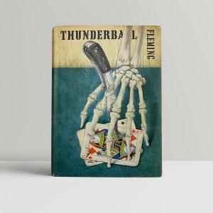 ian fleming thunderball first ed1