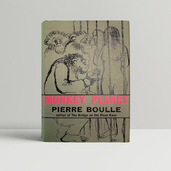 pierre boulle monkey planet first uk edition 1964