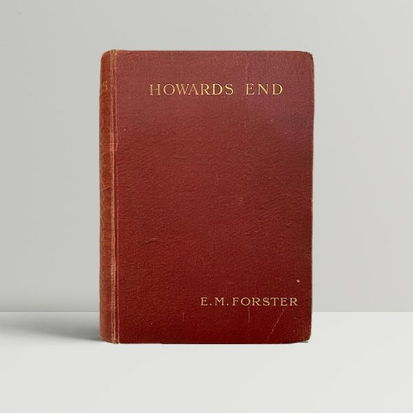 E M Forster Howards End First Edition
