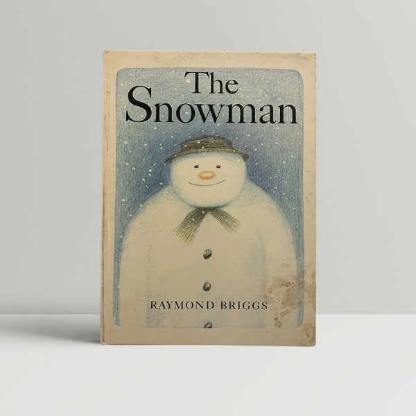 Raymond Briggs The Snowman First Edition