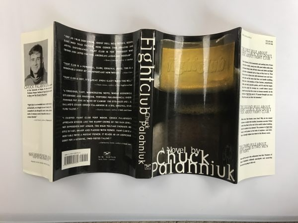 chuck palahniuk fight club signed first edition6