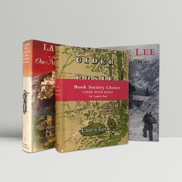 laurie lee autobiographical trilogy cider with rosie midsummer morning moment of war
