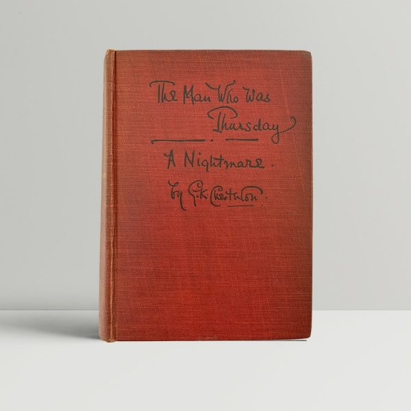 Chesterton The Man Who Was Thursday First Edition