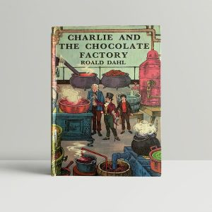 roald dahl charlie and the chocolate factory first ed1