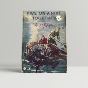 Blyton Five On A hike Together First Edition