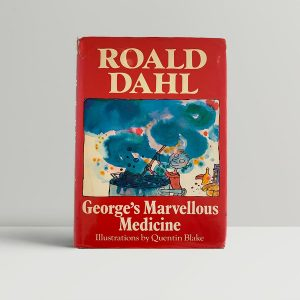Roald Dahl Georges Marvellous Medicine First Edition