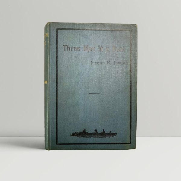jerome k jerome three men in a boat first uk edition 1889