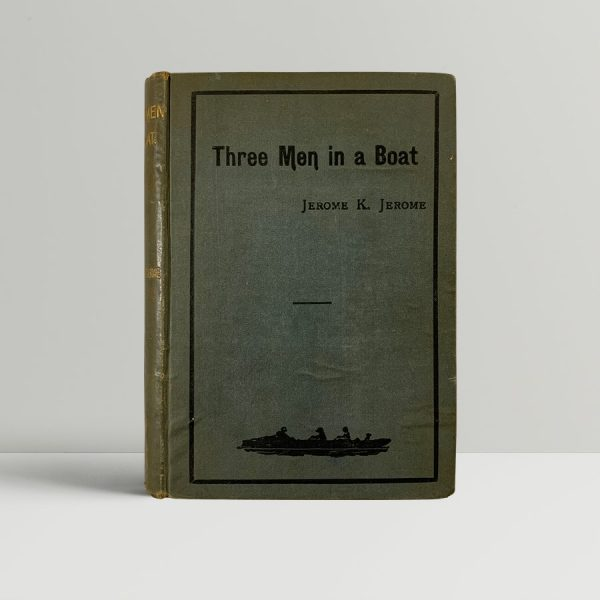 jerome k ferome three men in a boat first edition1