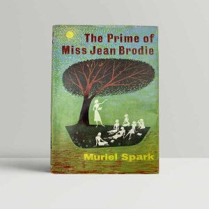 muriel spark the prime of miss jean brodie first uk edition 1961