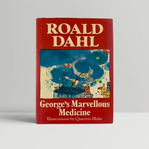 roald dahl georges marvelous medicine first edition1