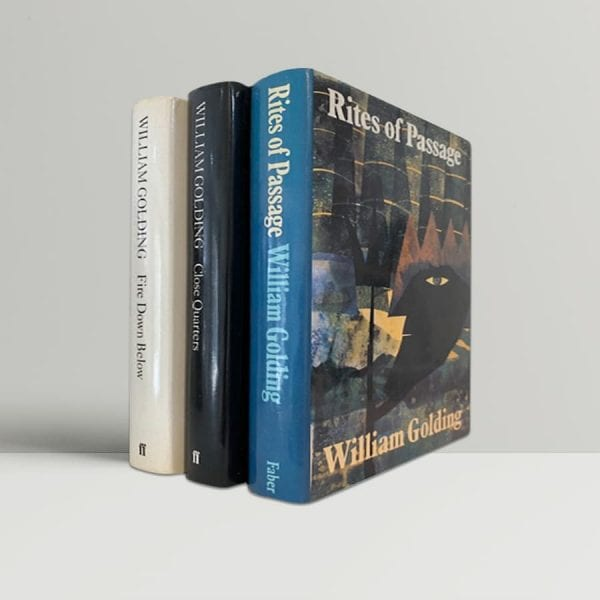 william golding to the ends of the earth trilogy rites of passage close quarters fire down below