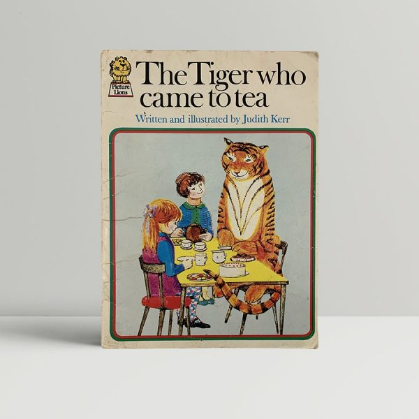 Judith Kerr The Tiger Who Came To Tea First Edition