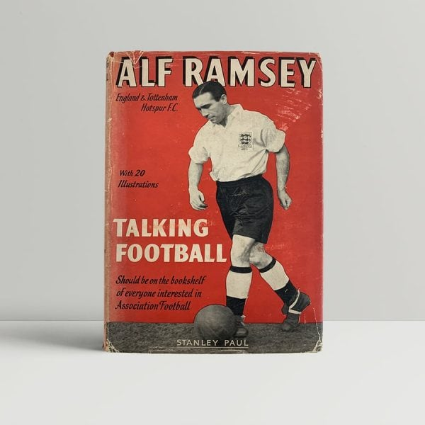 Alf Ramsey Talking Football First Edition