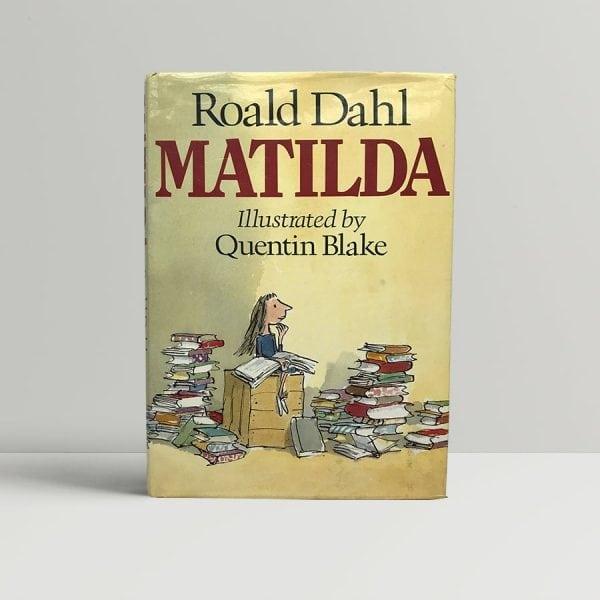 Roald Dahl Matilda First Edition