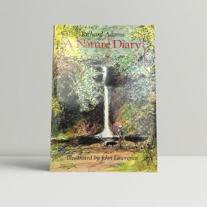 adams richard a natures diary first uk edition 1985 signed