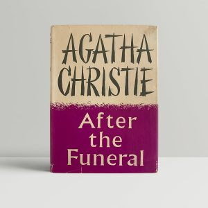agatha christie after the funeral first uk edition signed 1953 img 3407