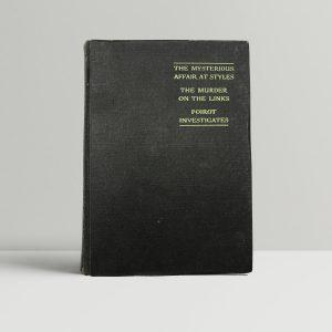 agatha christie an agatha christie omnibus first uk edition 1931