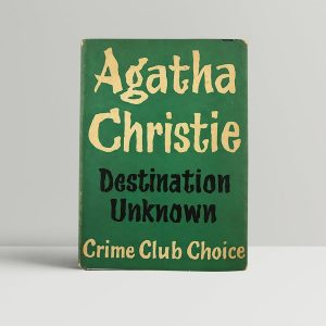 agatha christie destination unknown first uk edition 1954 2