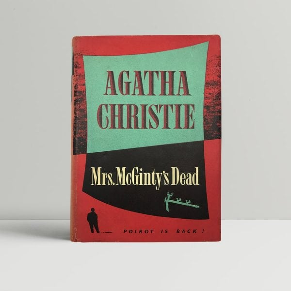 agatha christie mrs mcgintys dead first uk edition 1952