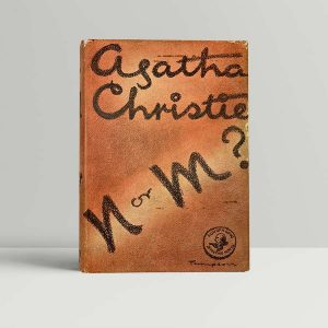 agatha christie n or m first uk edition 1941