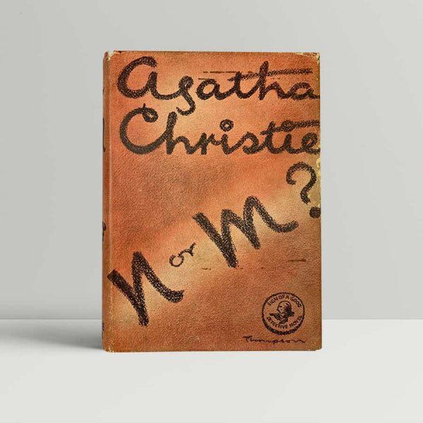 agatha christie n or m first uk edition 1941