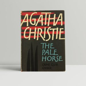 agatha christie the pale horse first uk edition 1961
