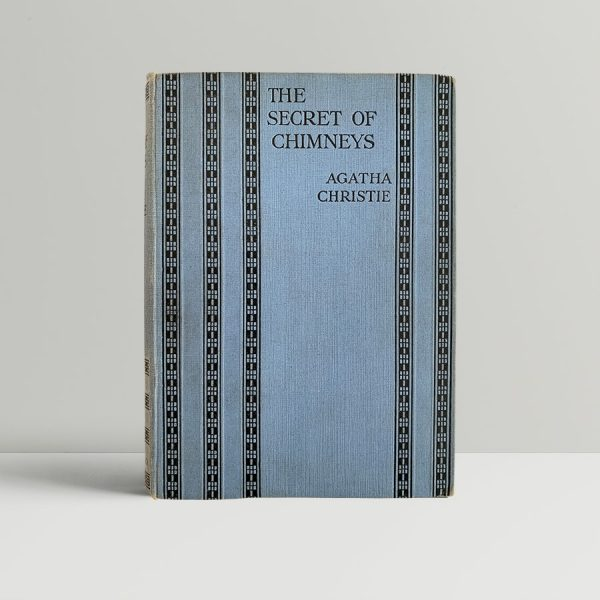 agatha christie the secret of chimneys first uk edition 1925 11496