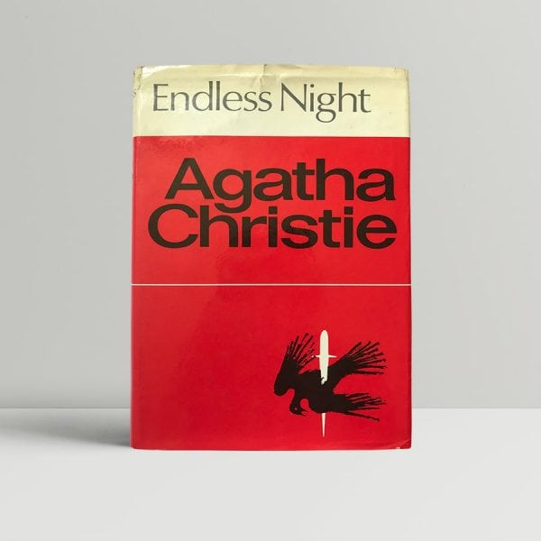 agatha christie endless night first edition1