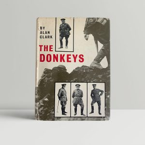 alan clark the donkeys first uk edition 1961 img 9252 2