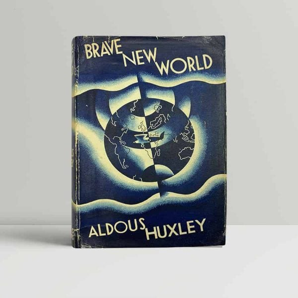 aldous huxley brave new world first uk edition 1932 2