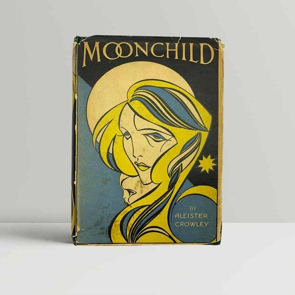 aleister crowley moonchild first uk edition 1929