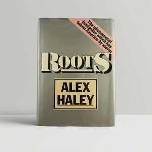 alex haley roots first uk edition signed 1977