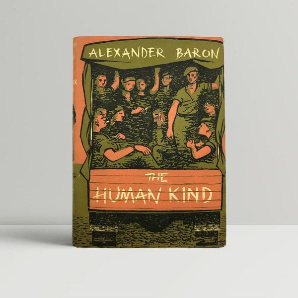 alexander baron the human kind first uk edition 1953 10847